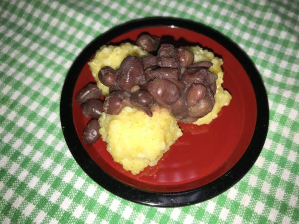 もちきび・きな粉・小豆